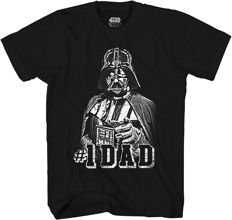 Star Wars Darth Vader #1 Dad Men's Adult Graphic Tee T-Shirt