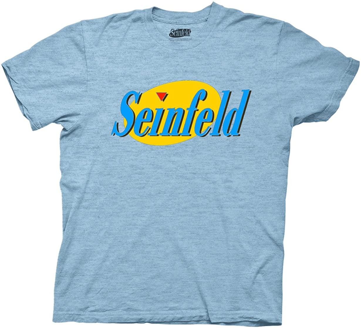 Ripple Junction Seinfeld Season 3 Color Logo Adult T-Shirt