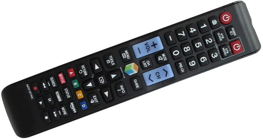 Easytry123 Remote Control for Samsung UE55H6690SVXZG UE55H6740SVXZG UE55H6750SVXZG UE55H6770SVXZG LED HDTV 3D TV