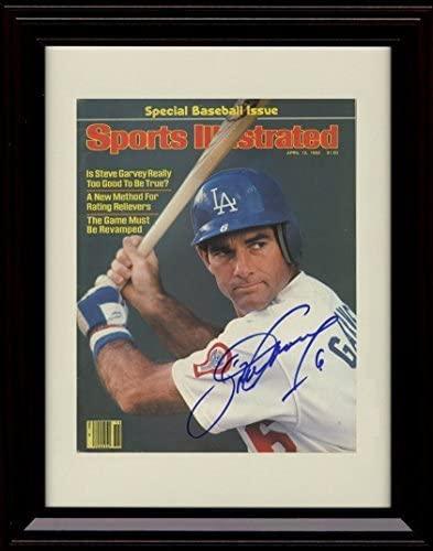 Framed Steve Garvey Sports Illustrated Autograph Replica Print