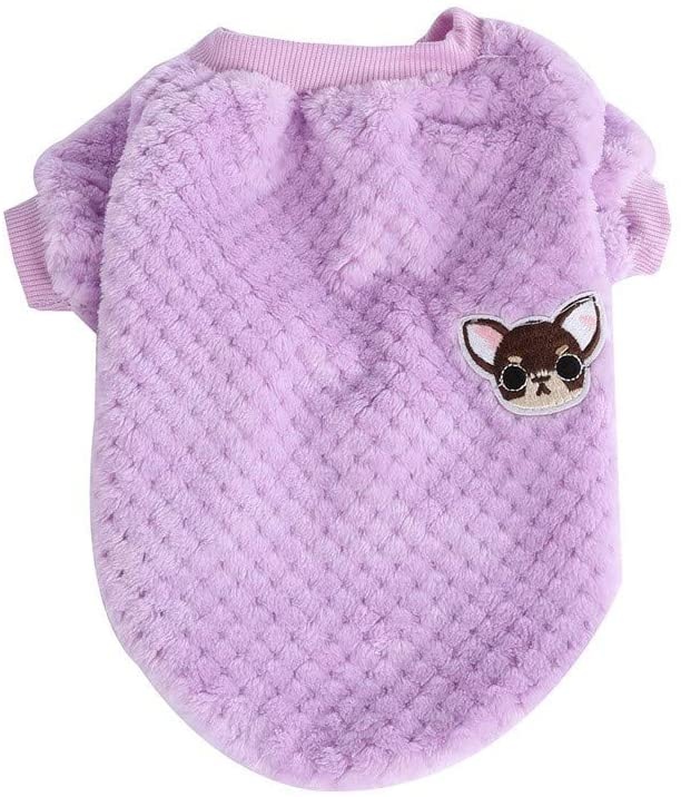 UYTGB Cute Thermal Pet Clothes for Dog Pajamas PJS Coat