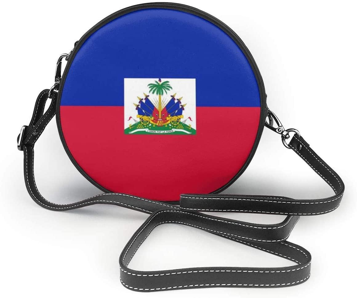 YongColer Vintage Bag Shoulder Satchel Women Crossbody Purse, Haiti Flag