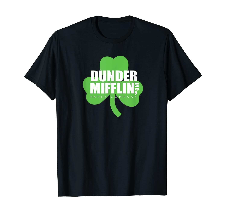 The Office Dunder Mifflin on Shamrock T-Shirt