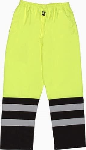 Safety Rain Pants Hi Vis Lime 5XL S649