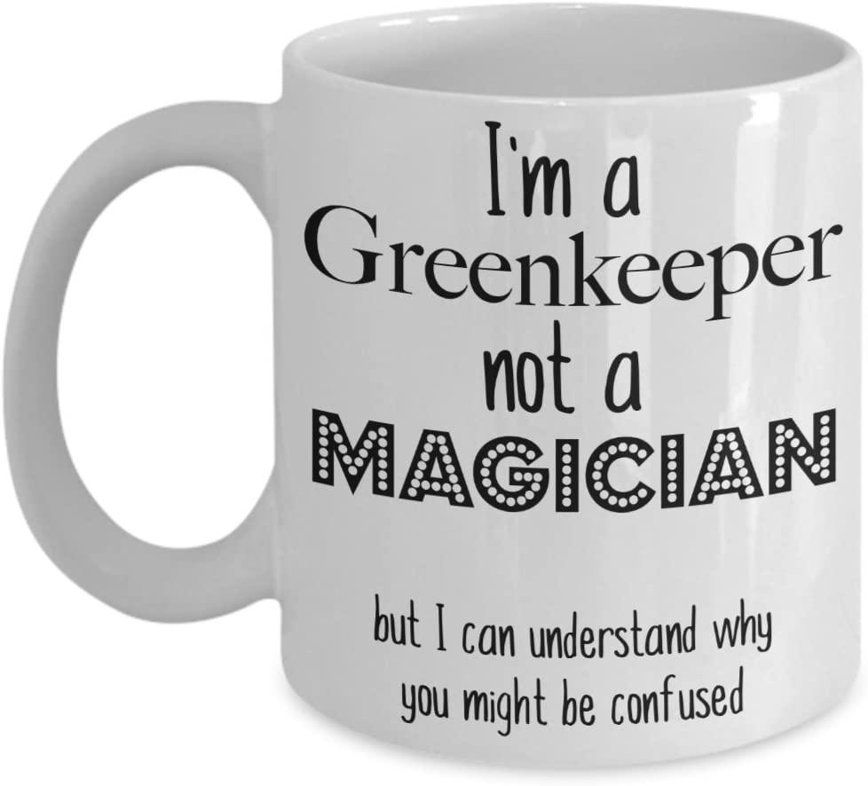 Funny Greenkeeper Mug, Greenkeeper Coffee Mug