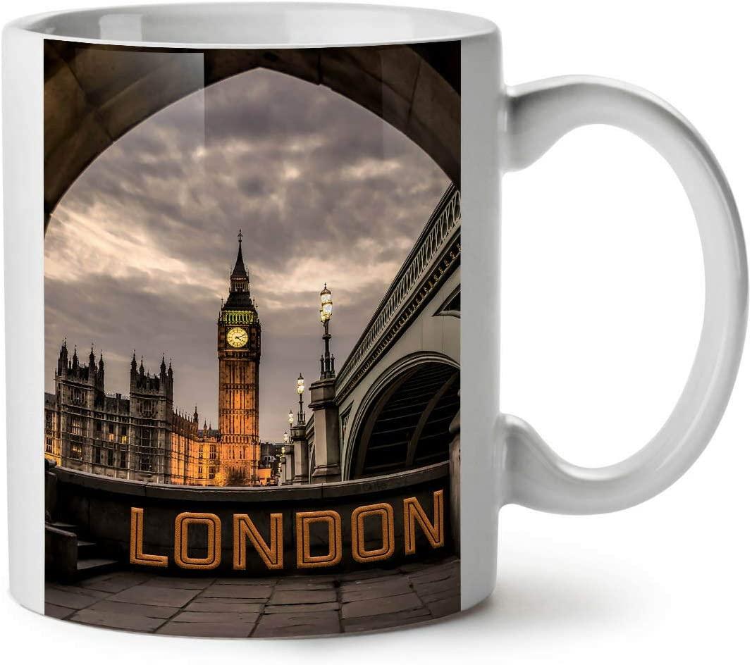 London Famous Places NEW White Tea Coffee Mug 11oz