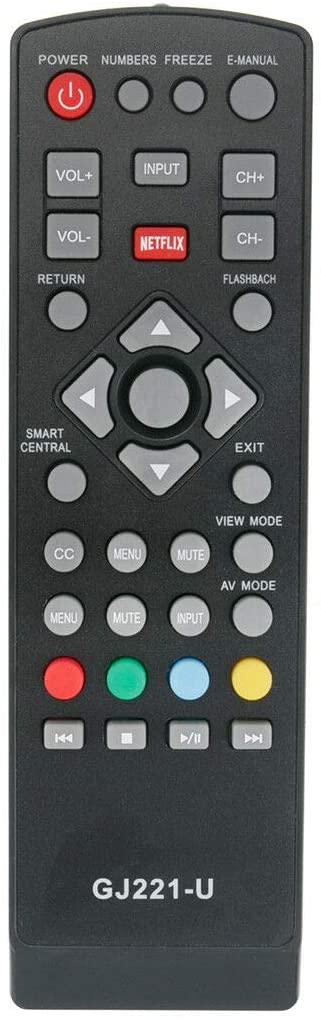 GJ221-U Replace Remote for Sharp LC-55UB30U LC55UB30U LC-65UB30U LC65UB30U TV
