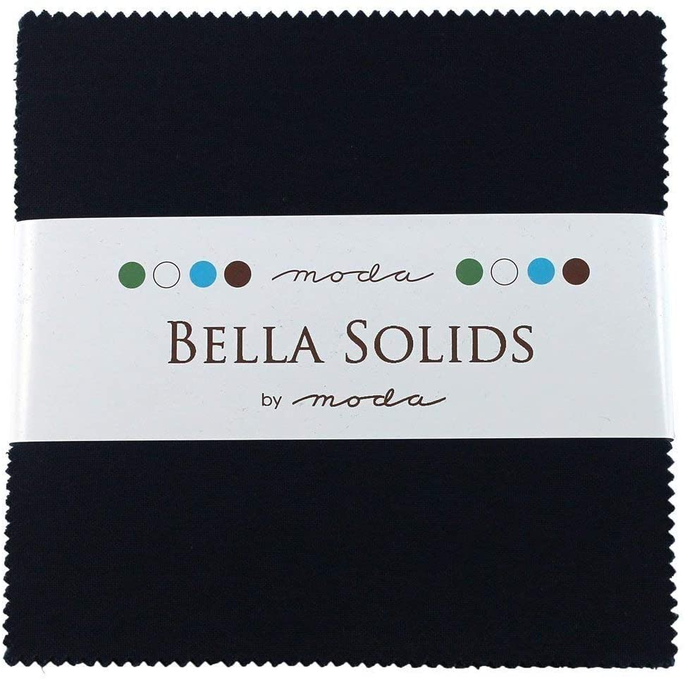 Bella Solids Navy Charm Pack 42 Squares 5