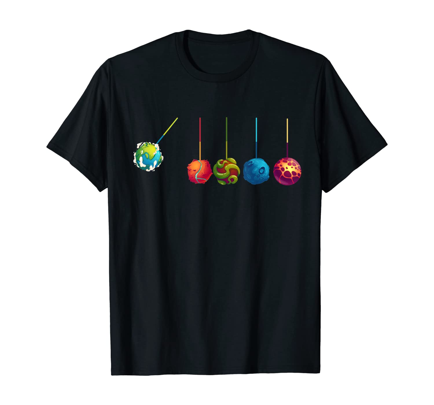 Astrophysicist Gifts Planets Physics Space Science Astronaut T-Shirt