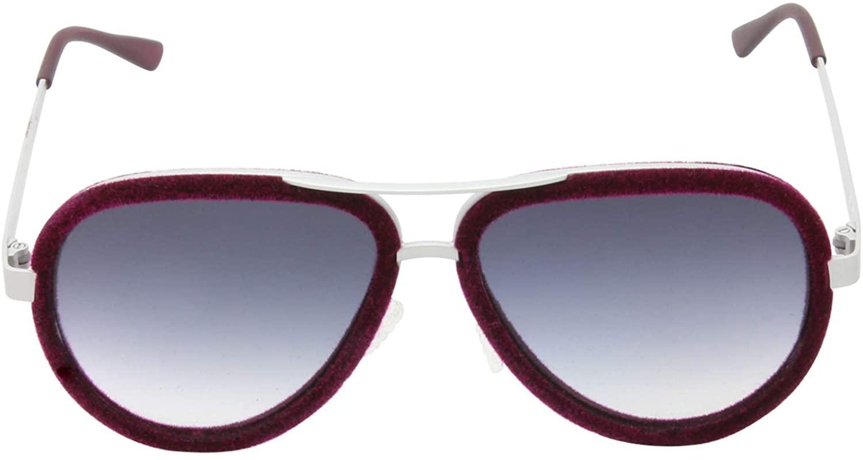 Italia Independent ItaliaI 000BV Purple/Gray Lens Sunglasses