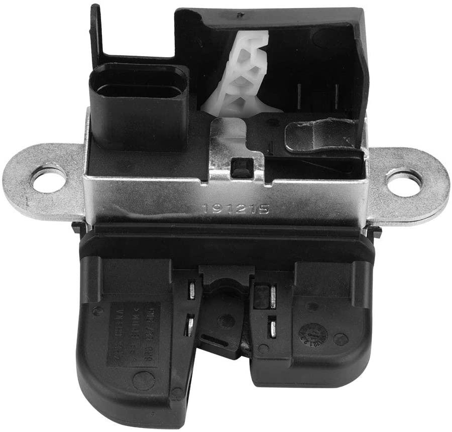 Yctze Trunk Lock Latch,100% Brand New Black ABS Rear Trunk Latch Lock Actuator Tailgate Rear Trunk Lid Lock Latch