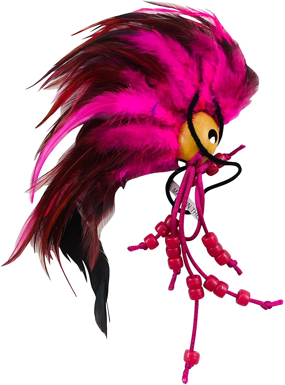 Westmon Works Hawaiian Warrior Helmet for Car Ikaika Decor in Pink Hawaii Makini Makakii Decoration