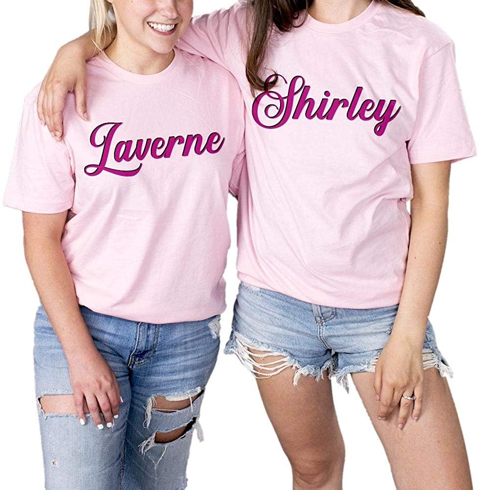 TeesAndTankYou Laverne and Shirley Best Friends Shirt Unisex