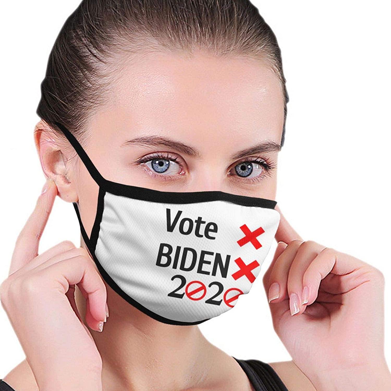 Unisex Cloth Face Mask Fuck Biden 2020 Reusable Outdoor Fashion Balaclava