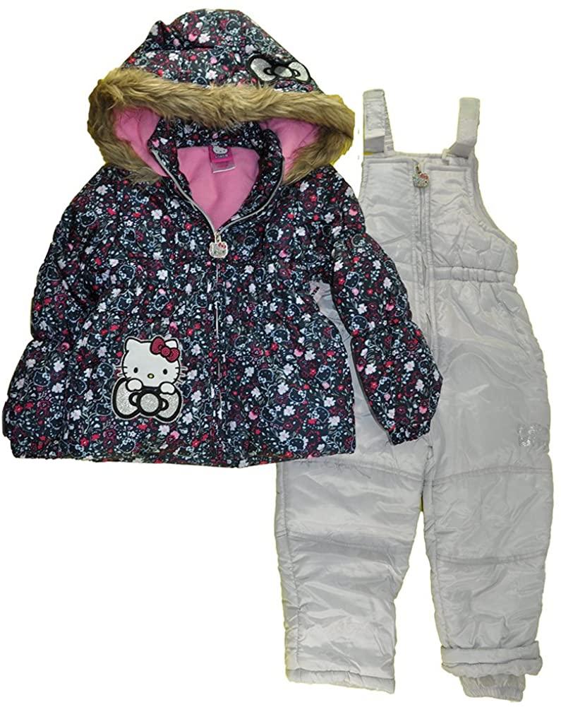 Hello Kitty Girls Snowsuits