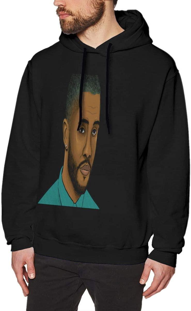 HYANGLIQGB Men's Hoodie Frank Ocean Men's Graphic Hoodie Hooded Sweatshirt Music Animation Customized Picture, CustomizableXL