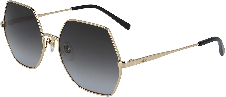 Sunglasses MCM 140 S 738 Shiny Gold/Grey
