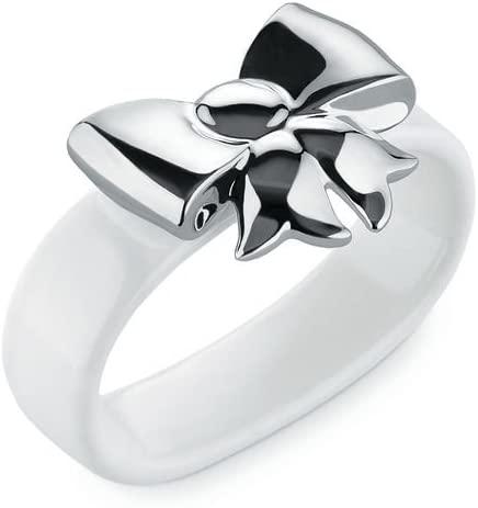 Alessi, Set2Napkin Dressed X-Mas Napkin Rings, Set Of 2, White