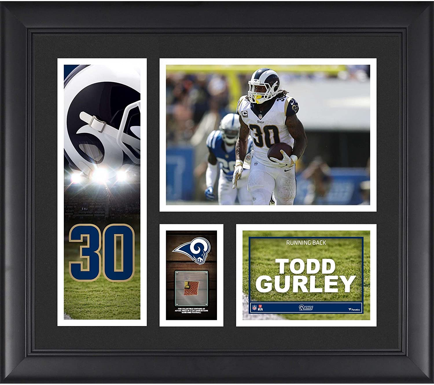 Todd Gurley II Los Angeles Rams Framed 15