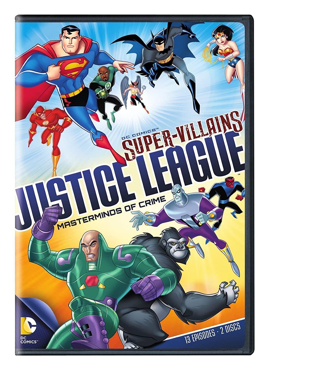 DC Supervillains Justice League: Masterminds of Crime (DVD)