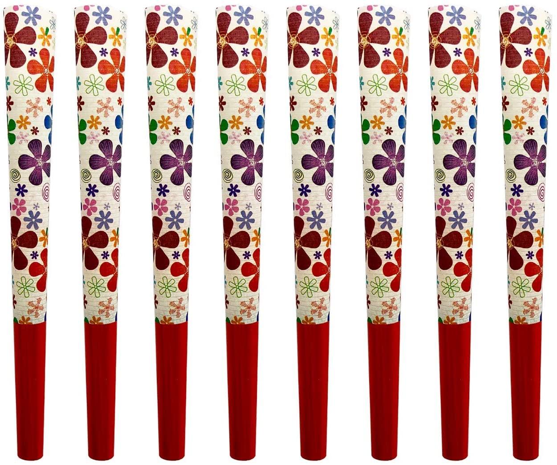 Beautiful Burns, Flower Power Pre-Rolled Cones 8 Pack