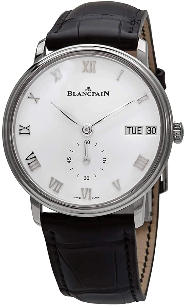 Blancpain Villeret Ultra Slim Automatic White Dial Men's Watch 6652-1127-55B