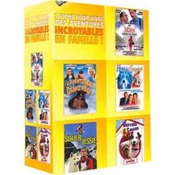 Coffret 5 comédies familiales - Un indien dans la ville + Laventurier du Grand Nord + Hercule & Sherlock + Silver & Jessie + Hercule & Sanson