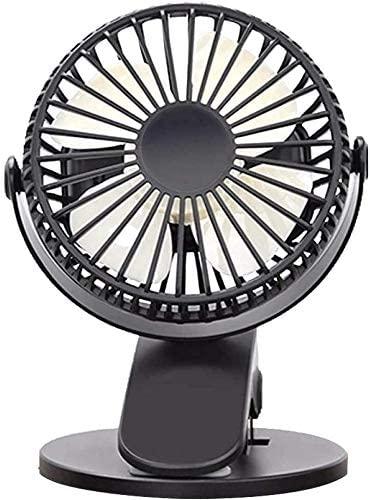 WWL Mini Desk Fan USB Powered Clip Fan for Baby Stroller Office Outdoor Travel