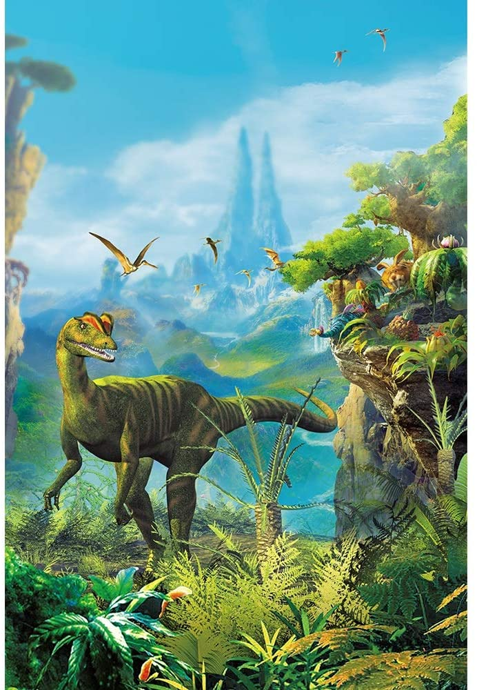 YQSHYP 1000 Piece,Jurassic Dinosaur Jigsaw Puzzle,DIY Landscape Puzzle Adult Children Puzzles Large Game Interesting Toys Personalized Gift