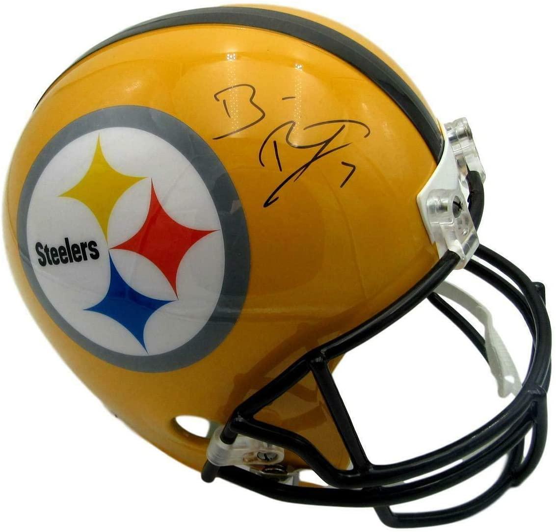 Ben Roethlisberger Signed/Auto Steelers Replica Full Size Helmet Fanatics 153297 - Autographed NFL Helmets