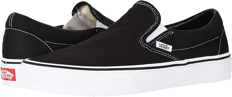 Vans Classic Slip-On, Black Size 6 Women//4.5 Men
