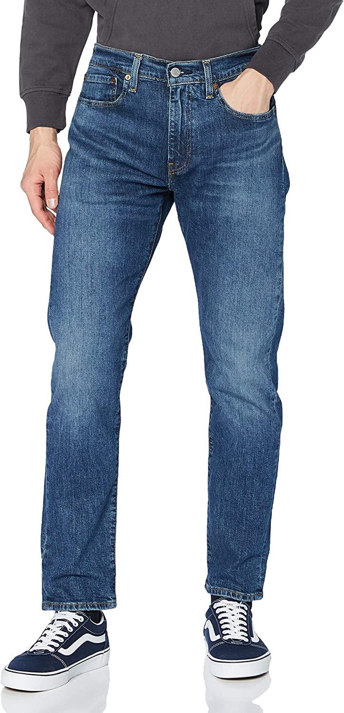 Levi's 502 Regular Taper Jeans Men Moss - EU 40 (US 30/32) - Straight Jeans