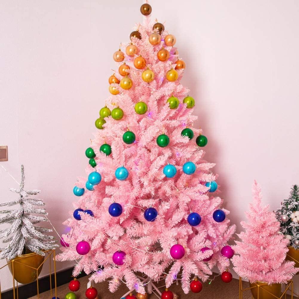 LIUSHI Christmas Tree Mini Christmas Tree Pink Cherry Blossom Gradient 1.5 Meter 1.8 Meter Package Large Encryption Automatic Tree Christmas Decoration