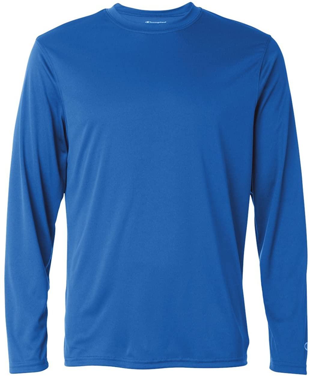 Champion Double Dry 4.1 oz. Long-Sleeve Interlock T-Shirt (CW26)