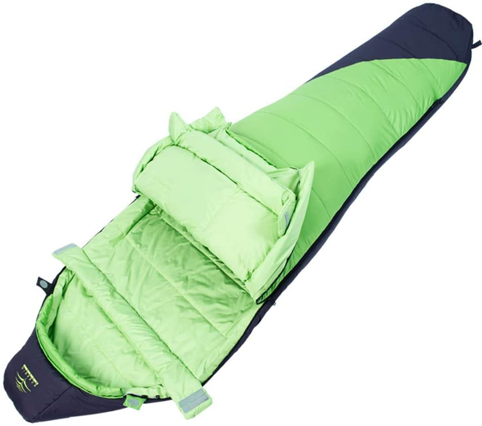 Lightweight Mummy Sleeping Bag, Spring and Autumn, Outdoor Camping, Thick and Warm, Very Suitable for Hiking D-20-9-14