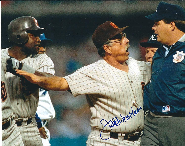 Autographed Jack McKeon 8x10 San Diego Padres Photo