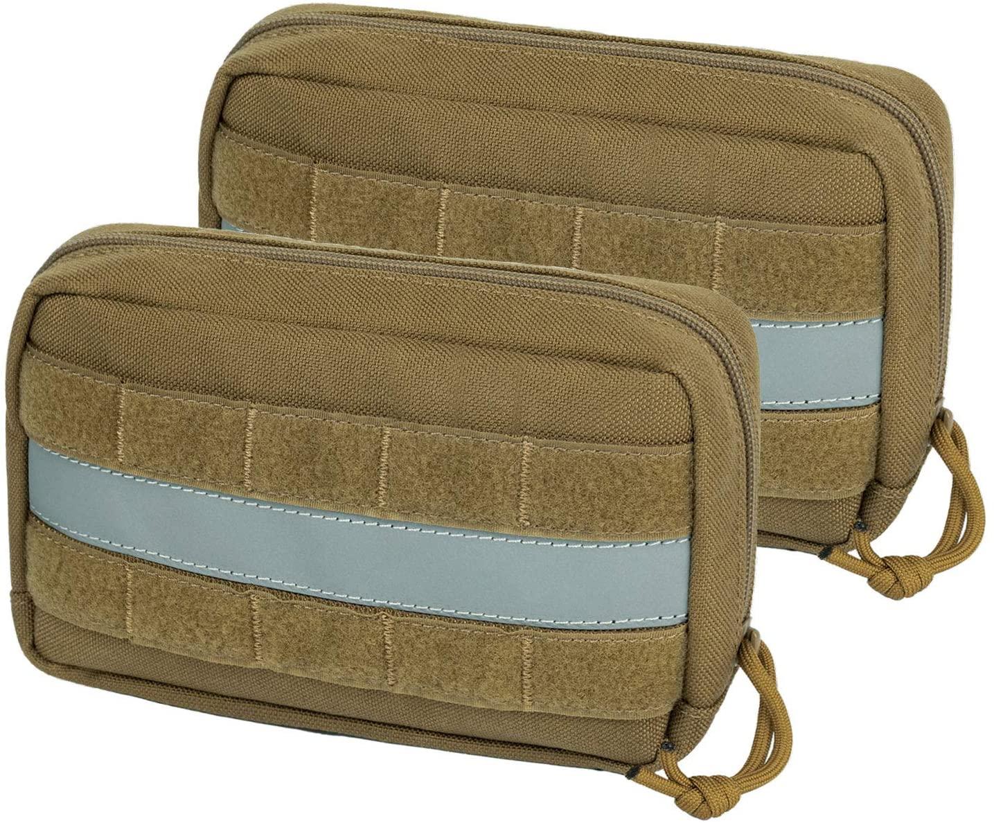 OneTigris Service Dog Vest Harness Saddle Bag Backpack Pouch, Emotional Support, Service Dog in Training,Quality Saddlebag for Tactical Dogs Vests