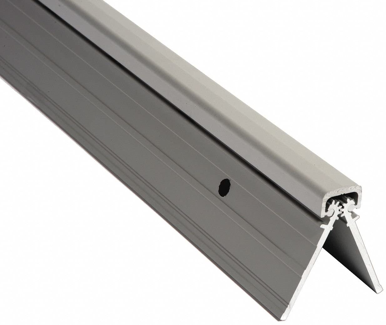 180 Continuous Hinge With Holes, Unfinished, Door Leaf: 83