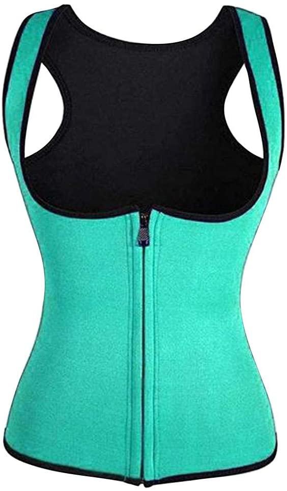 Women's Underbust Corset Waist Trainer Steel Boned Tummy Control Sport Workout Body Shaper Vest