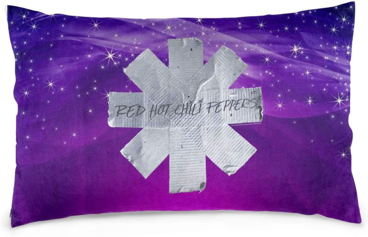 Happy-Life Red Hot Chili Peppers Rectangular Waist Pillow, Rectangular Cushion, Pillow Case