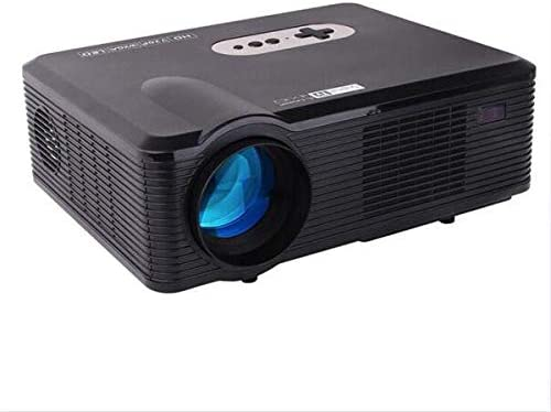 LOVEPET Multifunction Home Projector Micro Portable Support 1080P Movie TV Show Karaoke Video Game Cinema Projector
