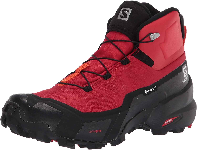 Salomon Mens Cross Hike Mid GTX Hiking Shoe