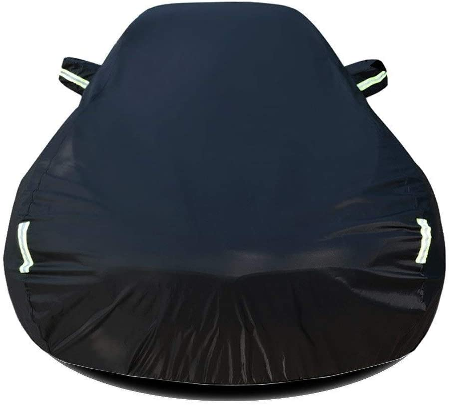 HANG Outdoor Car Cover Compatible with Ford Escape Breathable Vehicle Cover Auto Cover All Weather UV Protection Automobiles Full Exterior Covers Waterproof Car Shield