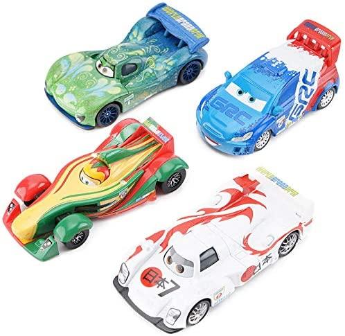 Diecasts Toy Vehicles Pixar Cars Lightning McQueen Set Jackson Storm Cruz Ramirez Diecast Alloy Car Model Birthday Gift Boy Kid Toy