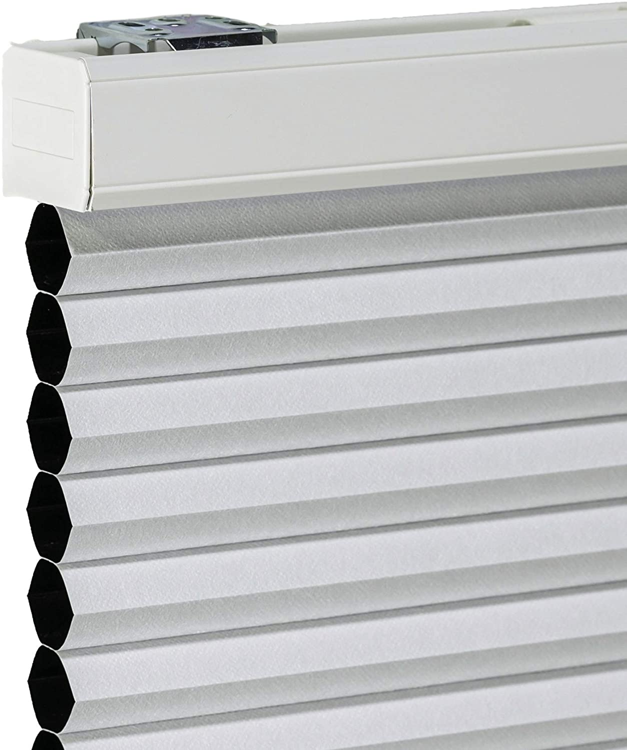 CHICOLOGY Cordless Cellular Shades Blackout Window Blind, 46