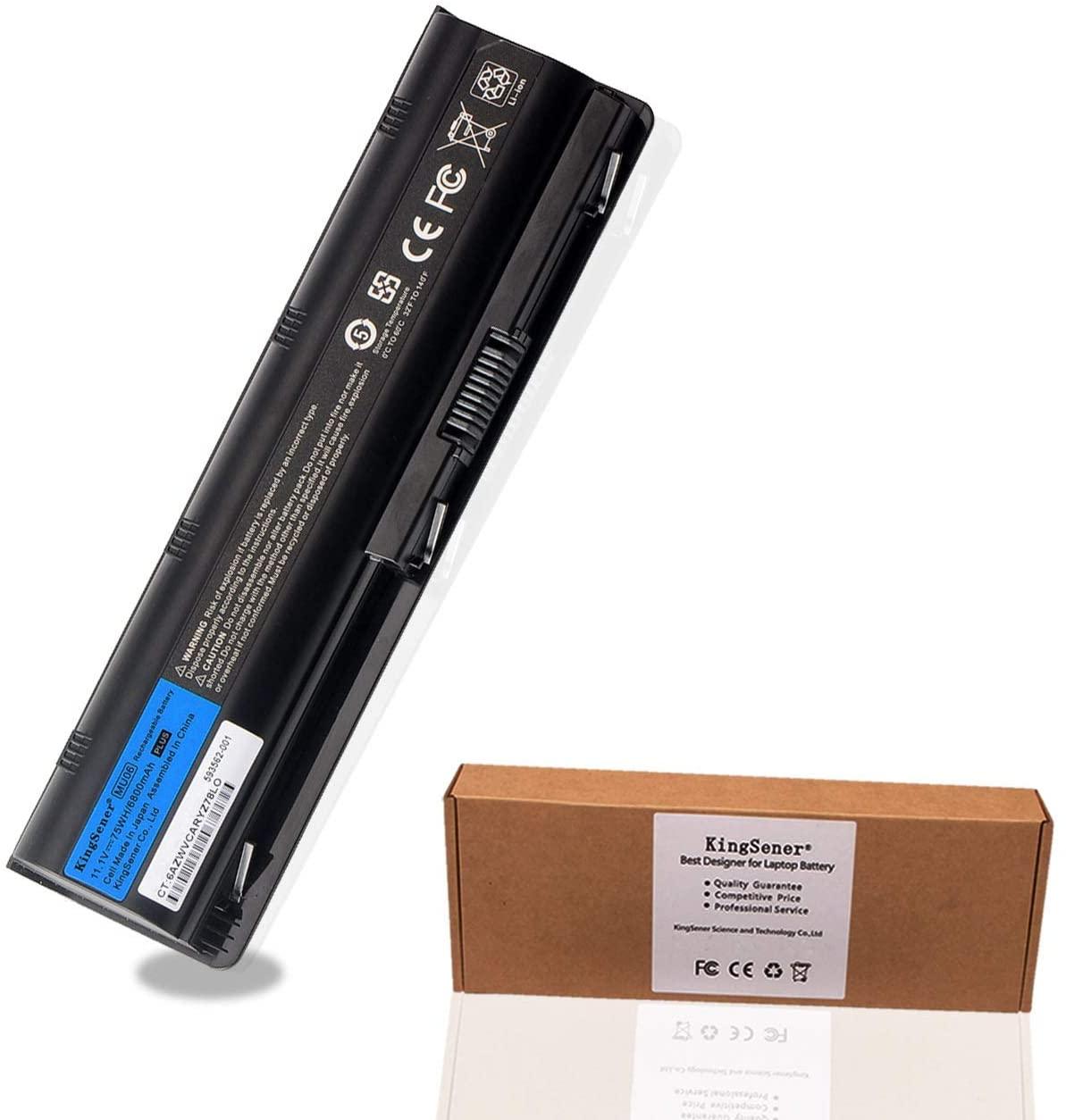 KingSener MU06 Laptop Battery for HP Pavilion g4 g6 g7 CQ32 CQ42 CQ62 CQ72 DM4 HSTNN-CBOX HSTNN-Q60C HSTNN-CB0W MU09 G32 G42 G62 11.1V 75WH