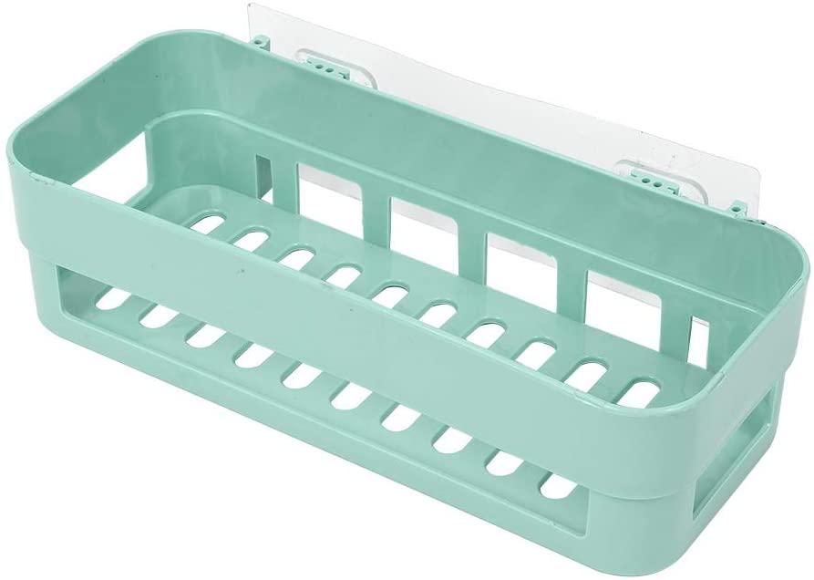 Eastbuy Shower Caddy - 1Pc New Stick Type Bathroom Kitchen Corner Wall Storage Rack Organizer Shower Shelf (Green)