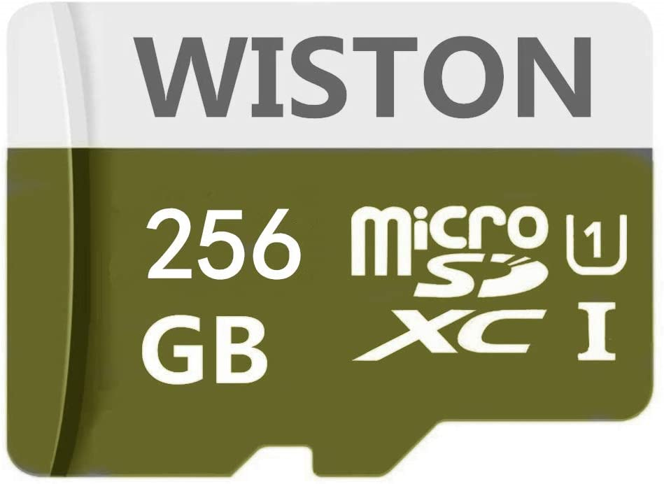 Micro SD SDXC Card Memory Card High Speed Class 10 with SD Adapter, Designed for Android Smartphones (256gb)