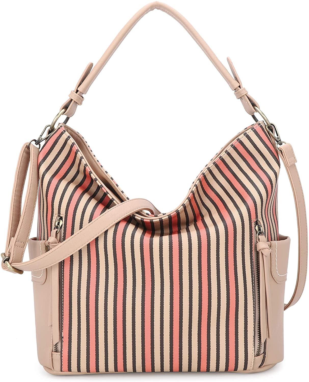 Women Shoulder Handbag Purse Top-Handle Hobo Roomy Casual Ladies Shoulder Bag Fashion PU Tote Satchel Bag for Women