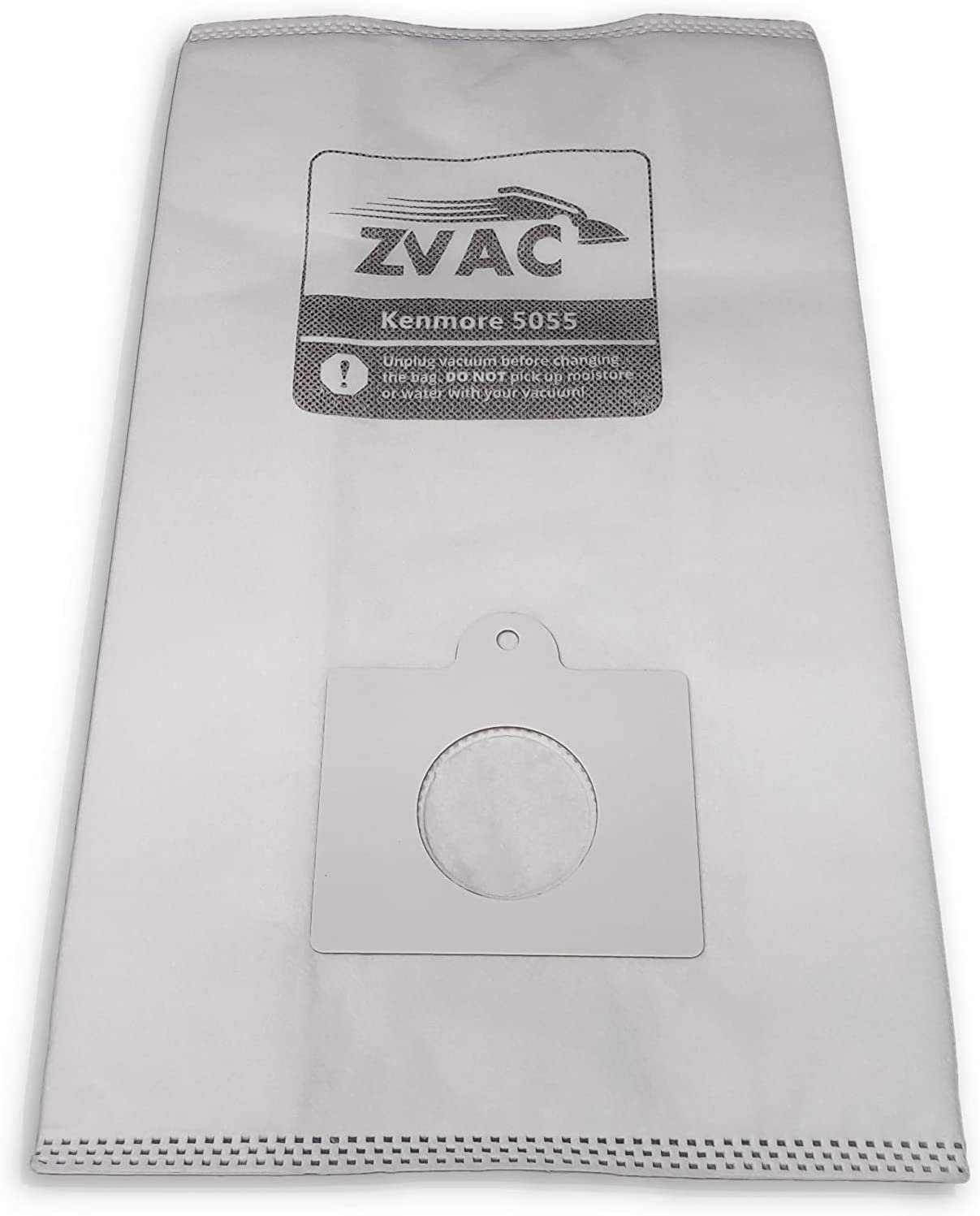 ZVac Kenmore C/Q Replacement Vacuum Cleaner Cloth Bags Compatible with Kenmore Canister Style C, Q, 5055, 50558, Panasonic C-5, MC-V295H (30)